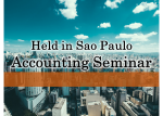 【July 18th】【Sao Paulo】Accounting for non-accountant: a brief summary for you understand how it works.