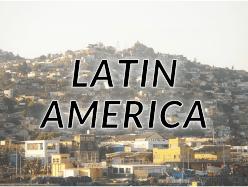 中南米(ラテンアメリカ・Latin America)